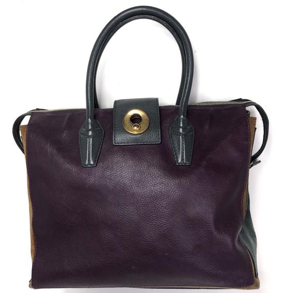 Yves Saint Laurent Handbags - Yves Saint Laurent Muse Two Multicolor Colorblock